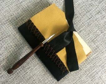 Leather Journal, Travel Diary, Travel Journal, Handbound Notebook, Notebook Journal, Handmade Book