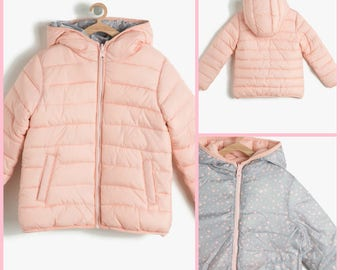 Girls  jacket, Girls Coat, Puffer Coat, Hooded jacket
