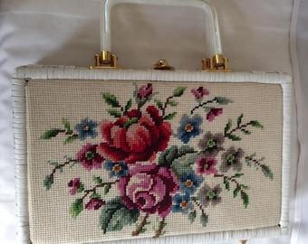 Tapestry Handbag Briefcase