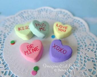 FAUX PETIT FOUR Fake Mini Heart Cakes Valentine's Day