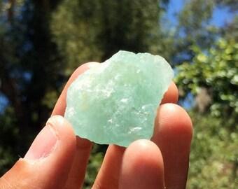 Raw Aquamarine Crystal, 01