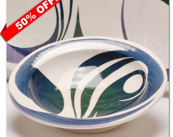 "50% OFF - ""In The Deep"" Shallow Bowl"