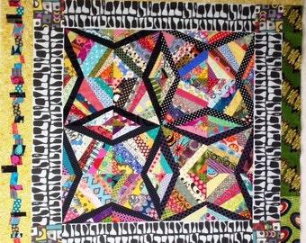 String Stars quilt pattern