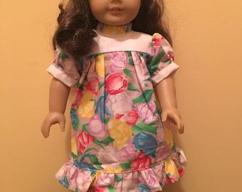 Floral Dress (Fits 18-inch Dolls)