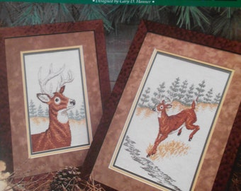 Whitetailed Deer, True Colors, Pattern Leaflet #20122, 1992