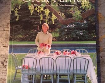 Best of Martha Stewart Living Book Great Parties