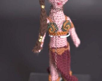 Crochet Slave Leia, Crochet Star Wars, Knitted Star Wars, Princess Leia