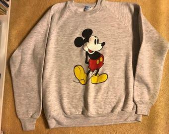 Vintage  Disney Mickey Mouse sweatshirt XL