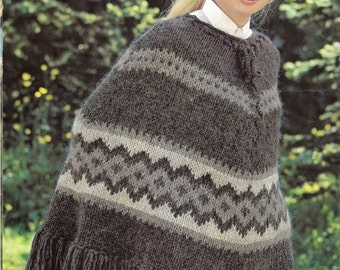 Vintage Knitting Pattern Bundle - Any Three PDF Patterns for the Price of Two
