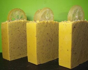 Pucker Up Lemon & Hemp Soap