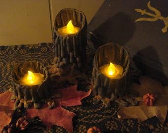 Set of Three Tavern Candles