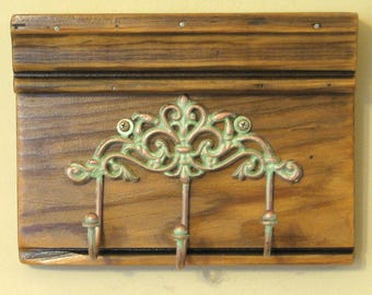 Small Shabby Chic Coat Rack - Coat Hooks, Wall Hooks - Ready to Ship