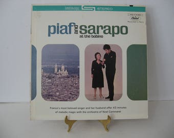 Edith Piaf & Theo Sarapo - Piaf and Sarapo at The Bobino - Circa 1963