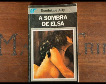 Dominique Arly sombra Elsa, circle of readers, 1978, events, Portuguese