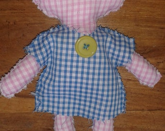 Cute Button Dress Dolly