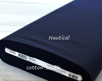 Kona Cotton K001-412 Nautical solid fabric Yardage 1 Yard Robert Kaufman