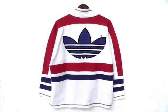 tracksuit big sweatshirt jacket 90s adidas logo color adidas windbreaker tracksuit L vintage adidas size adidas block adidas adidas UnWaWdZ