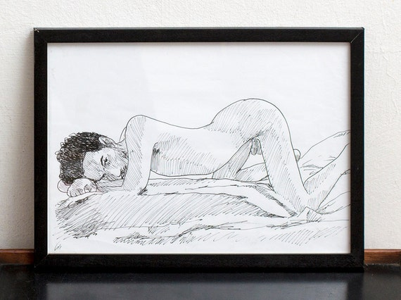 Eeotic Gay Porn Pencil Drawing - Like this item?