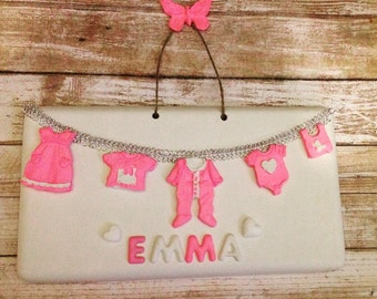 Nursery/Kids Room Decor, Personalized Sign
