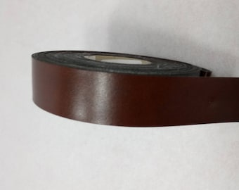 SHINY BROWN X2M LEATHERETTE BAND