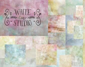 Pastel Paint Fine Art Textures, Photoshop Textures