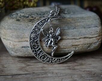 Fairy Moon - silver