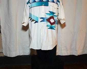 90s Roper Southwestern Button Up
