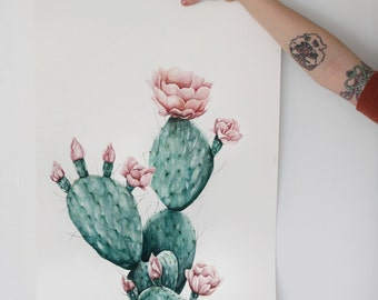 Desert Flower - Art Print