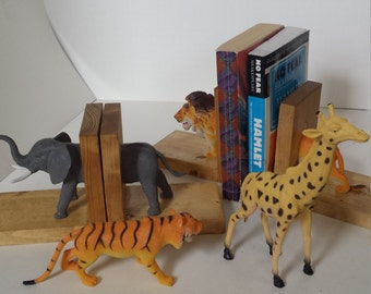 Safari Animal Bookend
