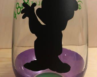 RunDisney / Dopey Challenge Wine Glass