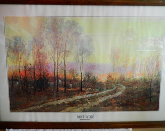 "Robert Girrard Limited Edition Print:""September Song"
