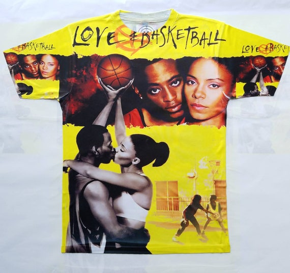 Love and Basketball sublimation T shirt DDDRSx