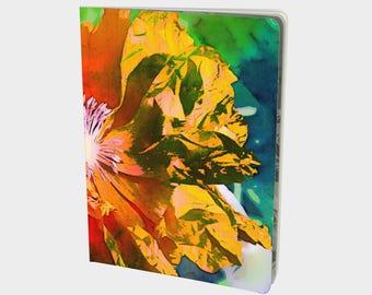 Golden Poppy Large Notebook