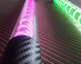 Levistick for juggler or lightpainting flow wand
