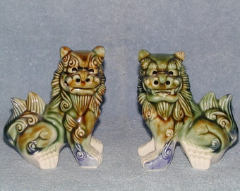 Foo Dogs - A Pair - Shi Shi Dogs