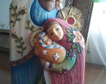 Holy Family figure by Romans INC