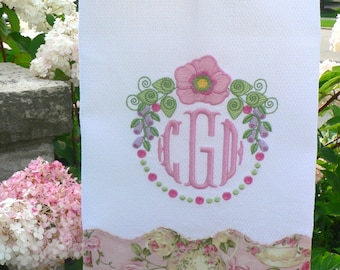 "1607 ""Flower Circle"" is a digital embroidery file."