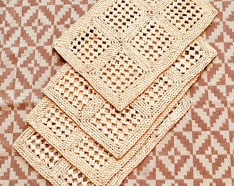 Straw Placemats Set of 4