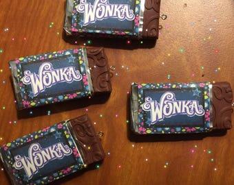 Mini Size Willy Wonka Chocolate Bar