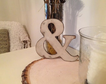 Ampersand, Metal Ampersand, Industrial Style ampersand, Antique Style Ampersand, Ampersand wall hanging, Wall decor