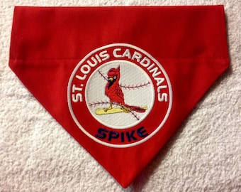 St Louis Cardinals Dog Bandana