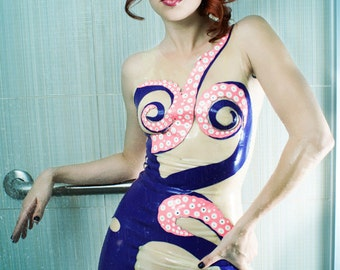 Latex Octopussy Dress