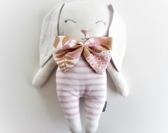 Handmade rabbit Stuffed toy bunny Soft toy Animal toy Animal doll Bunny softie Bunny plush kids room decor Baby gift Toddler gift