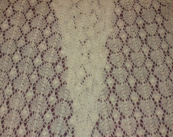 Estonian-style Lace Scarf