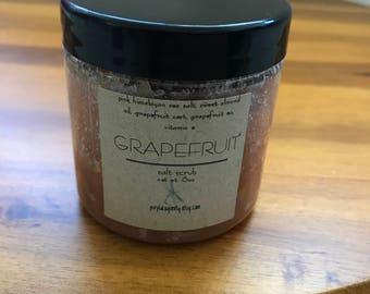 Pink Grapefruit Salt Scrub