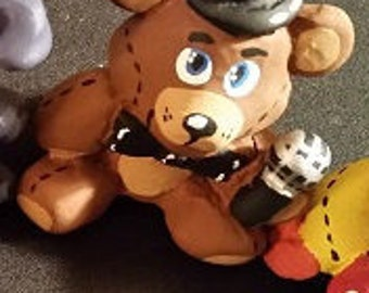 Five Nights At Freddy's Plushie Sculpture