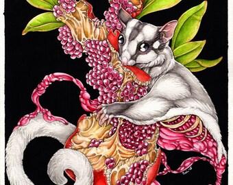Feast - Fine Art, Giclee Print