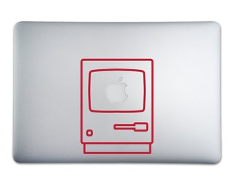 Apple Macintosh Sticker