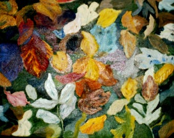 Autumn Leaves Original Oil painting