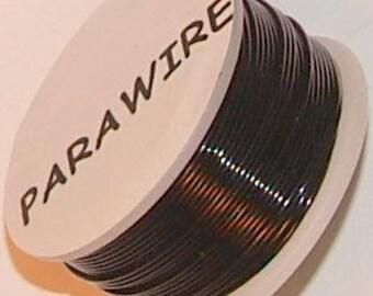 Black - 22 gauge - 100 feet Parawire - Qty. 1  (PWBL167)